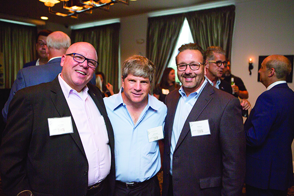 Jerry Telson, Andrew Meyer, David Pizzo