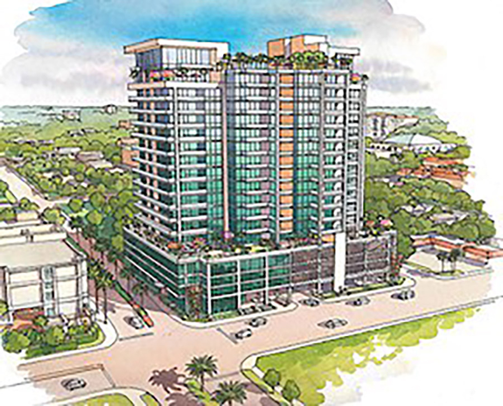 ►Stantec Architecture Inc. broke ground on the BLVD Condominium project, located in downtown Sarasota's Rosemary District.