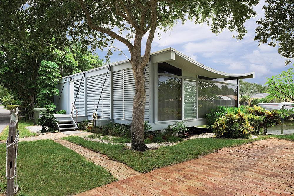 ►The Sarasota Architectural Foundation secured a 12-month lease to open Ralph Twitchell and Paul Rudolph's historic 1950 Cocoon House, formally called the Healy Guest House, for limited public tours.