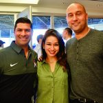 Punit Shah, Carla Shah and Derek Jeter