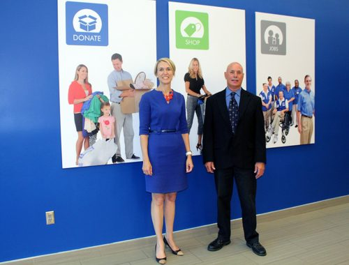 ► Goodwill Manasota promoted Gray Videnka to vice president of the foundation and marketing, and Tony Lapera was named vice president of information technology.