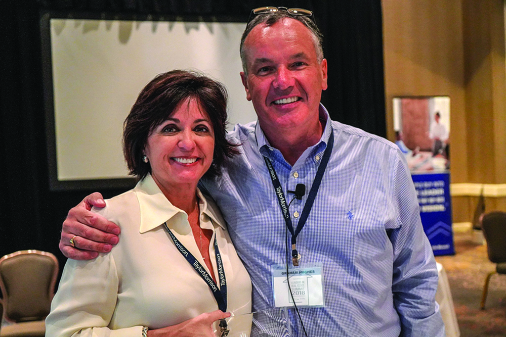 ►St. Petersburg real estate professional Kelly Fenton was recognized with the Rookie Award during Taylor Morrison's 2018 Leaders in Real Estate Summit in Atlanta.