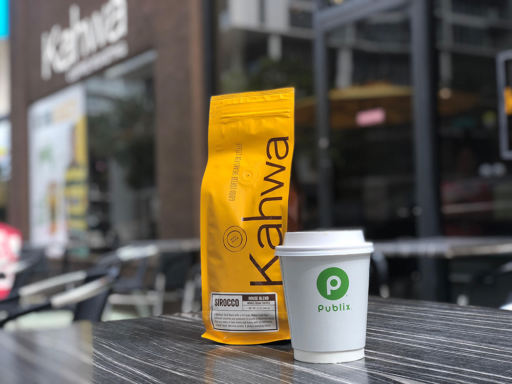 ►St. Petersburg-based Kahwa Coffee Roasters and Publix Supermarkets are rolling out in-store cafes at locations across the entire southeast region, starting with Winter Garden and Bradenton.