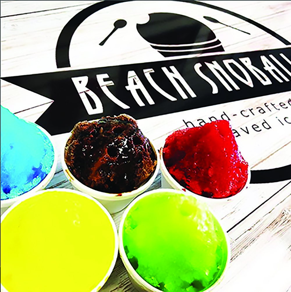 ►Beach Snoballs, a hand-crafted shaved ice shop that serves New Orleans-style Snoballs, relaunched on St. Pete Beach.
