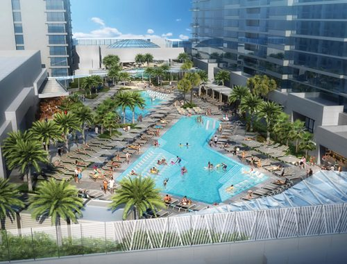 The Seminole Hard Rock Resort & Casino in Tampa will add three lavish outdoor swimming pools