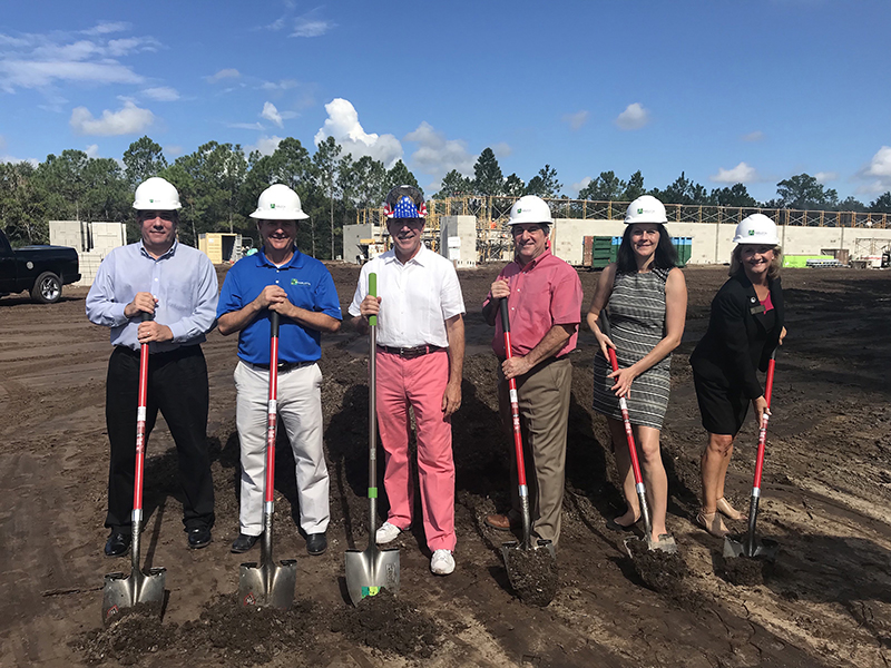 ►J.E. Charlotte Construction Corp., a Venice-based commercial construction company, broke ground on the new 23,437-square-foot Manatee County headquarters for RSP USA, a full-service marketing services provider.