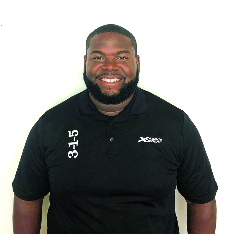 ►Donte'e Nicholls, a former Tampa Bay Buccaneer, has joined X-Force Body as a personal fitness coach at its Palm Harbor location, 35567 US 19 North.