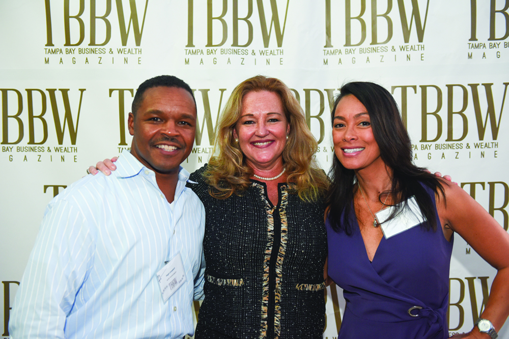 Hugh Campbell, Bridgette Bello and Valerie Ellis