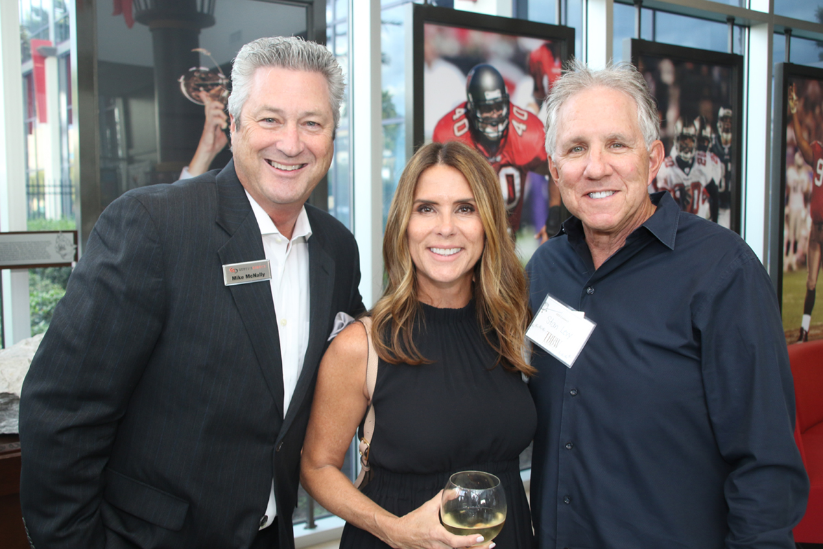 Mike McNally, Paola Schifino and Stan Levy
