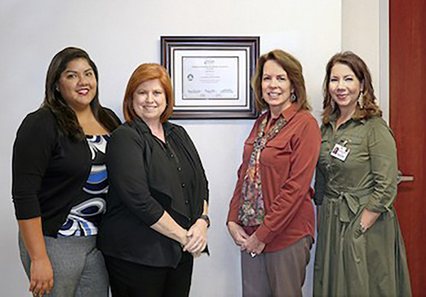 Watson Clinic's Credentialing department earned accreditation from the National Committee for Quality Assurance.