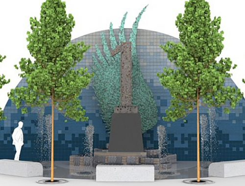 ►The Warehouse Arts District broke ground on Rise St. Pete, a monument and park that will serve as a tribute to 9/11 first responders that's made from a steel beam from the World Trade Center, given to the owners of American Freedom Distillery.