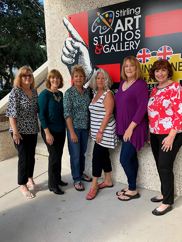 ►Six female artists, Sally Maraffi, Diane V. Radel, Lorraine Potocki, Kathy Thomas, Sharon Appler, and Patricia McEntire, will present a group art exhibition at Stirling Art Studios and Gallery in Dunedin, from January 2 to 31.